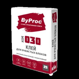 Штукатурка БиПрок (ByProc) ZPU - 130 универсальная  цементная, 25 кг (1 пал/48 шт)