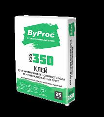 Клей Бипрок (ByProc) KSS-350 для плит из пенополистерола, 25 кг (1 пал/48 шт)