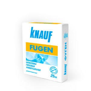 Шпатлёвка КНАУФ Фуген (Knauf Fugen) гипсовая универсальная, 25кг (1 пал/45 шт)