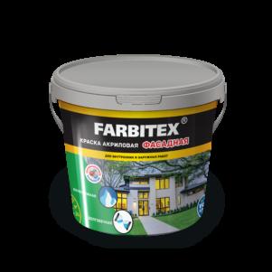 Краска акриловая  FARBITEX  фасадная (13 кг)