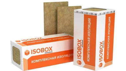 Изобокс плиты минераловатные ИНСАЙД 1200*600*50мм 1уп.-6 шт 0,216 м3(45кг/м3)