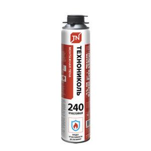 Пена монтажная огнестойкая ТЕХНОНИКОЛЬ 240 Professional, 1000мл (1уп/12шт)