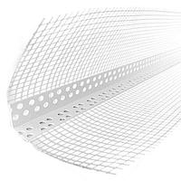 Угол ПВХ с армирующей сеткой 10х15 (2,5м/50шт.уп)