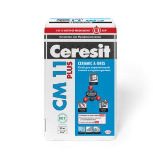 Клей Церезит (Ceresit) СМ 11 для плитки , 25 кг (1 пал/48 шт)