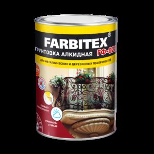 Грунт ГФ-021 FARBITEX серый (20кг)