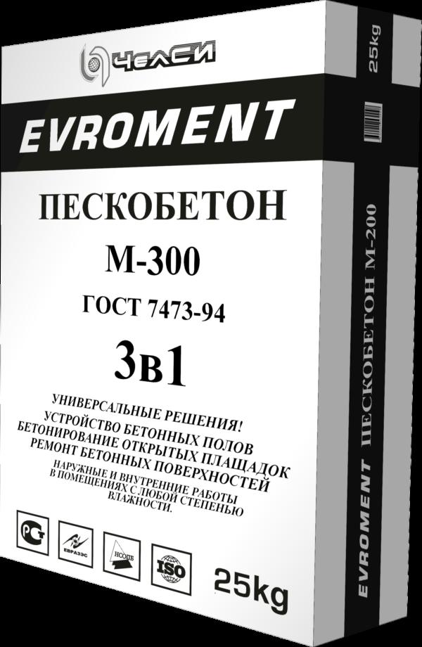 ПЦС Челси Пескобетон М 300 (25кг) (1пал/56шт)