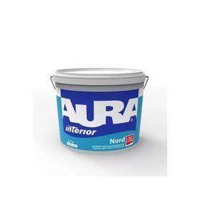 Краска в/д для стен и потолков Аура NORD матовая высокоукрывистая (2,7л)