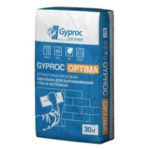 Штукатурка гипсовая Гипрок Оптима, 30 кг (1 пал/40 шт)
